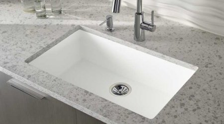 Zodiaq Countertops With Corian Sinks